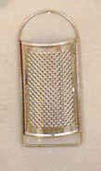 Small Flat Stainless Steel Grater