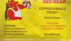 Red Bear Copper and Brass Polish Individual Pack