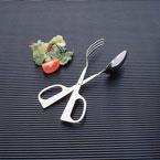 Stainless Steel Scissor Salad Tongs