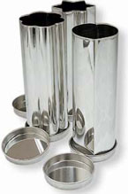 Individual Tinned Steel Canape Bread Mold