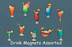Haitian Metal Cocktail Magnet – Assorted