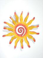 18″ Wavy Sun