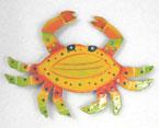 Haitian Metal Crab Magnet