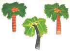 Haitian Metal Palm Tree Magnet – Assorted Styles