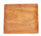 Acacia Wood 10″ Square Plate