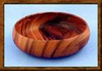 Acacia Wood 6″ x 2″ Individual Salad Bowl