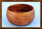 Acacia Wood 6″ x 3″ Individual Salad Bowl
