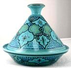 Turquoise Sabrine Non-Cookable Tunisian Tagine