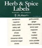 Basic Rectangular Labels Set of 64