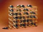 Wood 40 Bottle Winerack