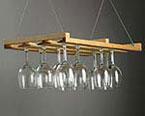 Hanging Wooden Stem Rack