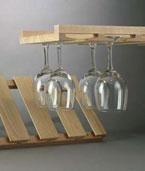 Fixed Wooden Stem Rack